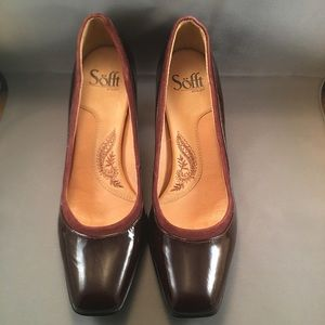 Brown Leather Pumps Sofft